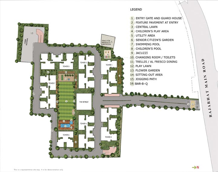 Silveroak estate master plan for Apartment master plans